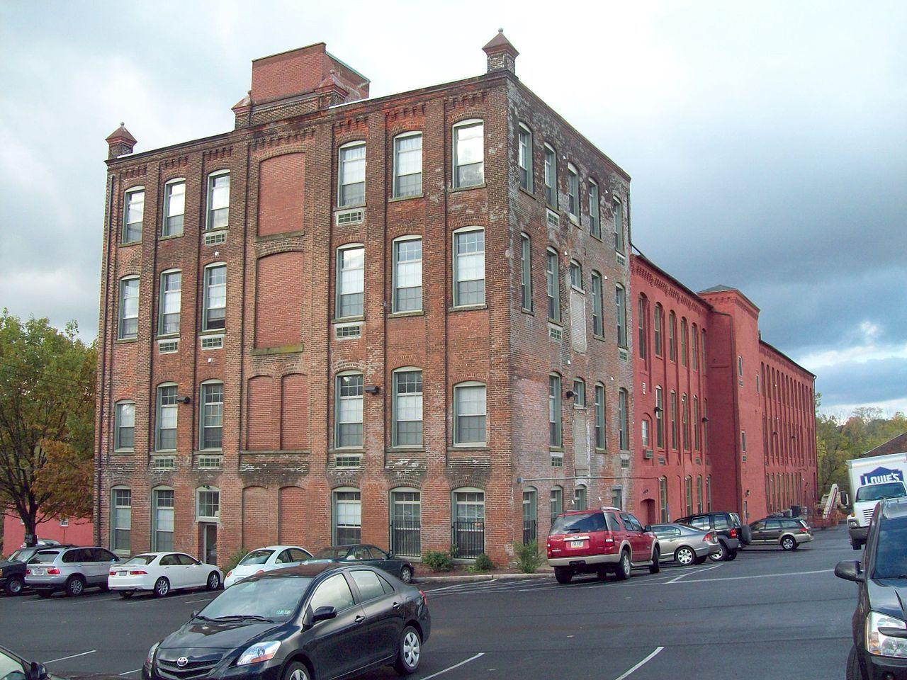Bethlehem Silk Mill in Northampton County, Pennsylvania.