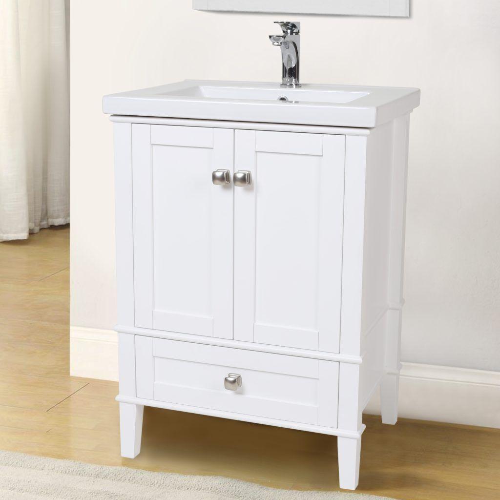 Joss And Main Bathroom Vanity Single Bathroom Vanity 24 Inch Bathroom Vanity Contemporary Bathroom Vanity