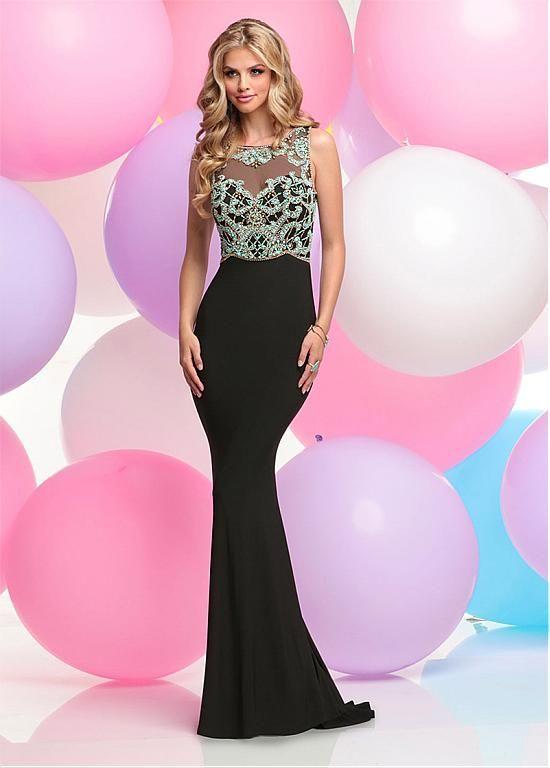 comprar Sparkle Acetate Satin Bateau Neckline Sheath Evening Dresses ...