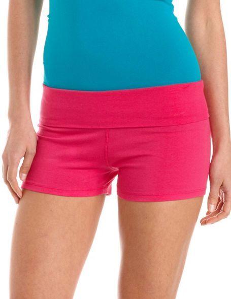 Fold-Over Waist Yoga Short $12.99