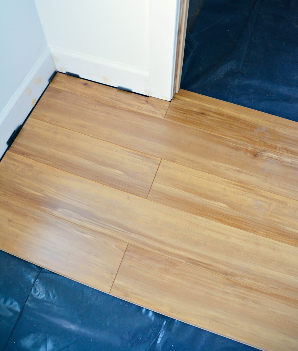 How To Install Laminate Flooring Over Concrete Installing