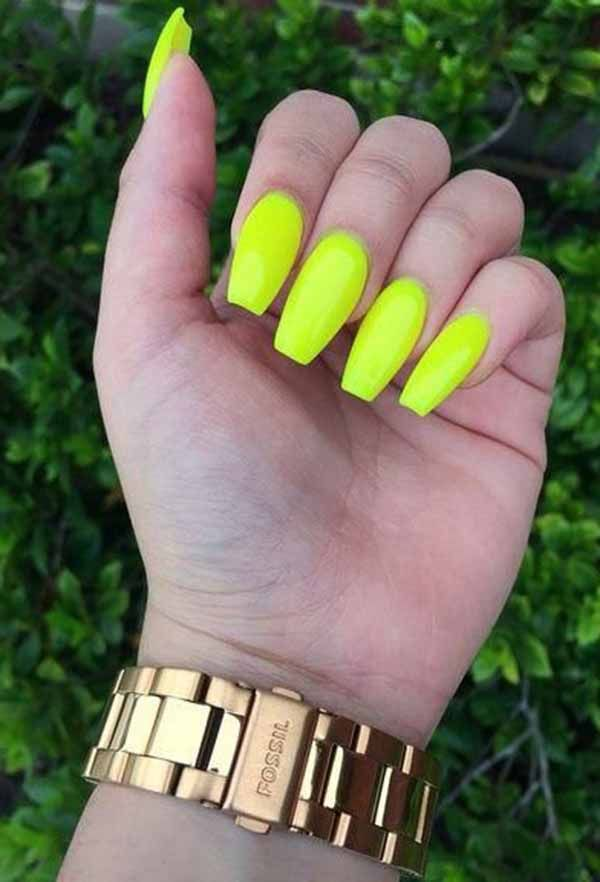If You Go With These 9 Fascinating Summer Nail Art Designs Neon In