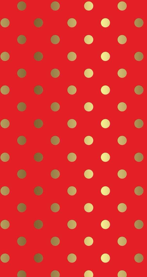 red iphone background with gold dots free wallpaper