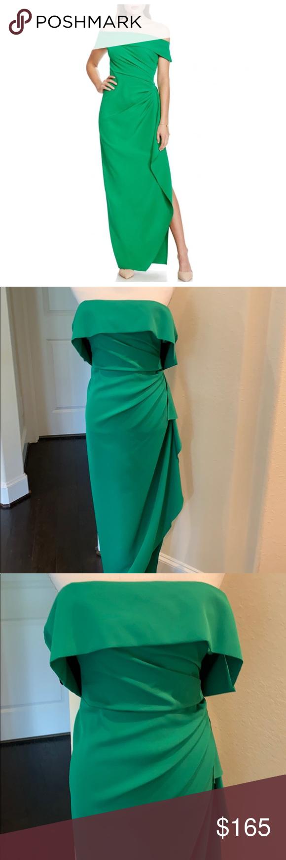 Vince Camuto Long Green Dress Long Green Dress Green Dress Dresses [ 1740 x 580 Pixel ]