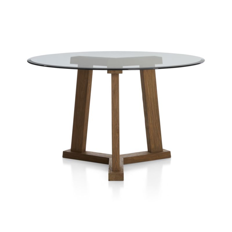 a9676fd56166 Teak Reclaimed Wood Dining Table with 42