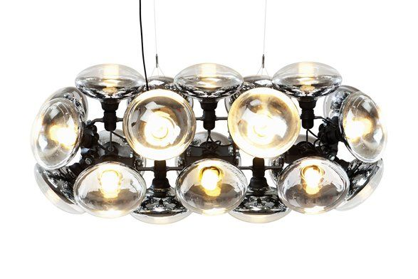 Tom Dixon S New Bulb Chandelier Pretty Cool Except You Have To Buy The Specialty Made Bulbs Tom Dixon Kronleuchter Ideen