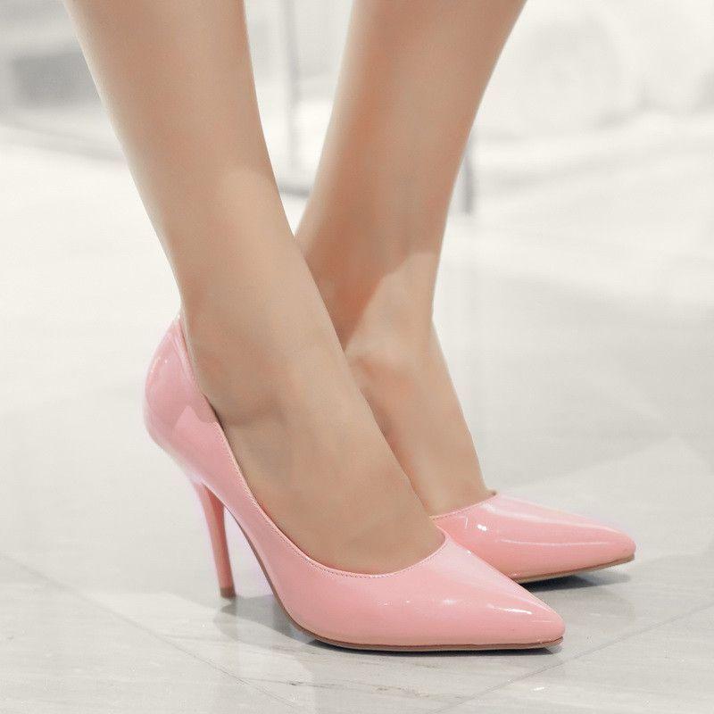 Black dress heels 4 cm