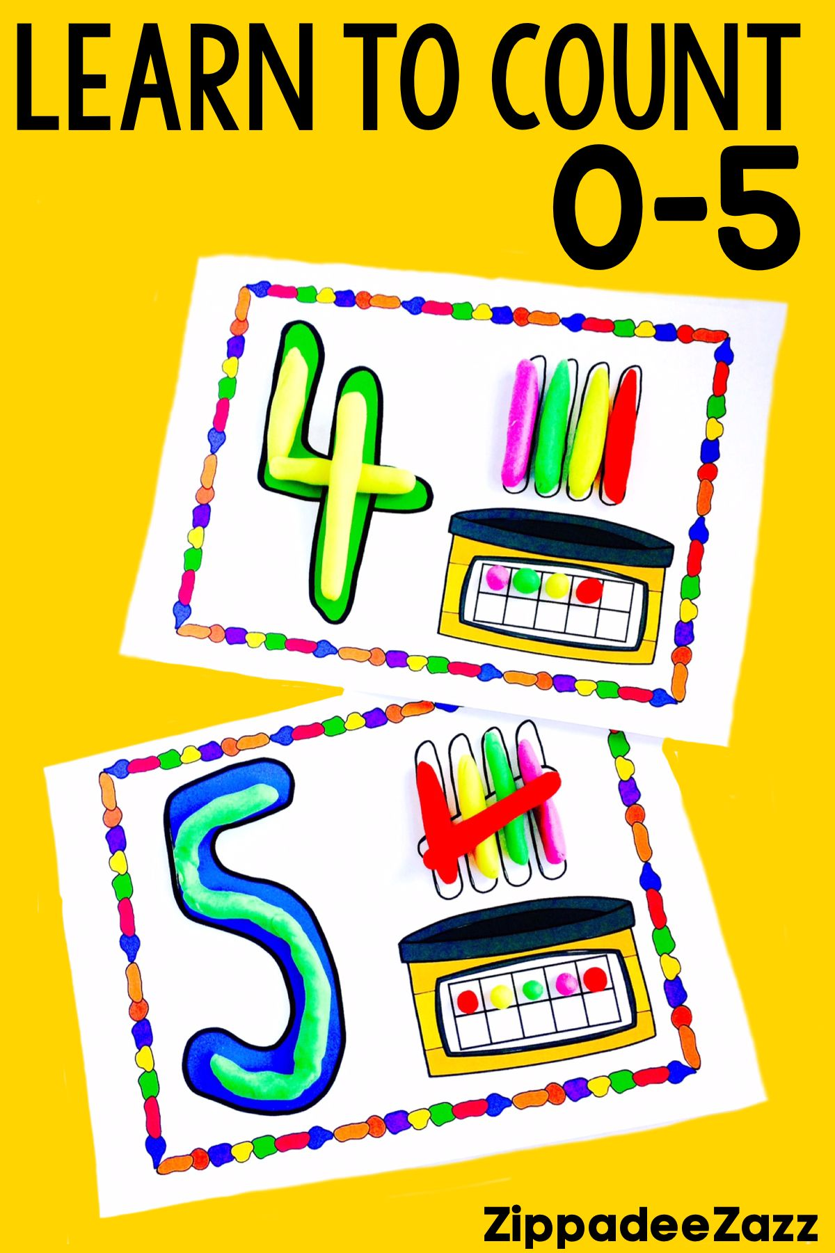 Kindergarten Math Curriculum Unit 1 Counting Numbers 0 5