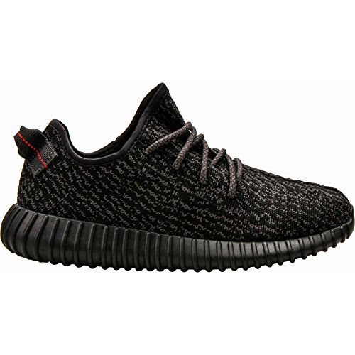 Adidas Mens Yeezy Boost 350 Black Fabric -- For more information, visit  image link. (It is an affiliate link and I receive commission through sales)