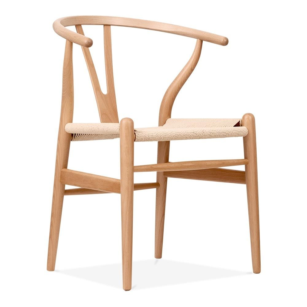 Danish Designs Wishbone Chair Natural Natural Wishbone chair
