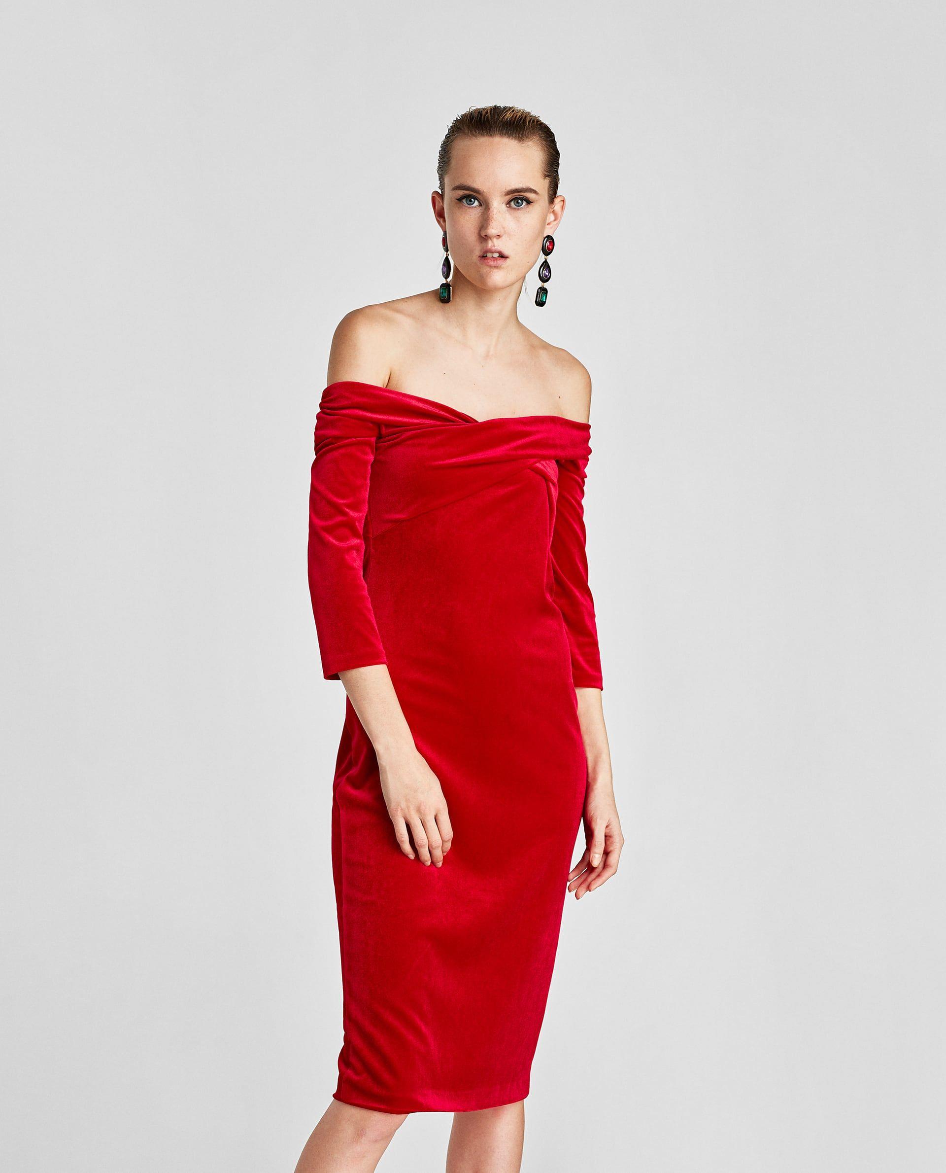 248dad93 Image 2 of VELVET TUBE DRESS from Zara | Sales 2018 | Tube Dress ...