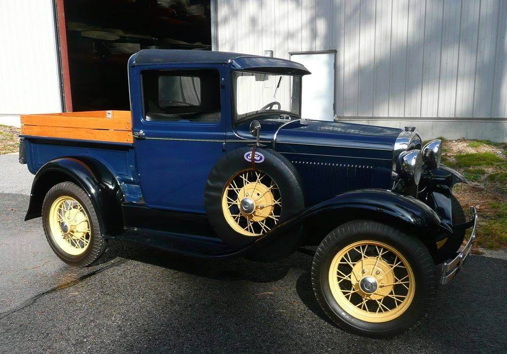 1931 Ford Model A Truck Maintenance of old vehicles: the material ...