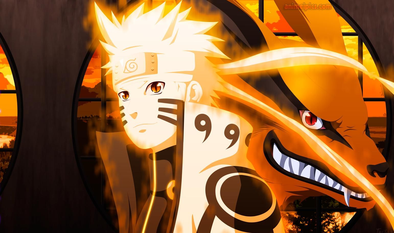 Naruto Uzumaki Nine Tails Chakra Mode Wallpaper Google Search Naruto Naruto Uzumaki Naruto Anime