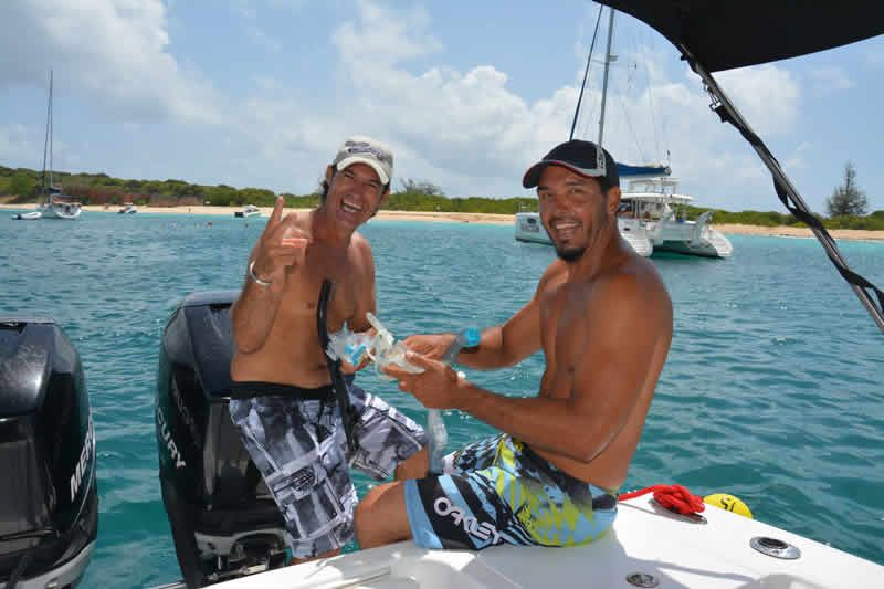 St. Maarten excursions - Captain Alan Three Island Snorkel