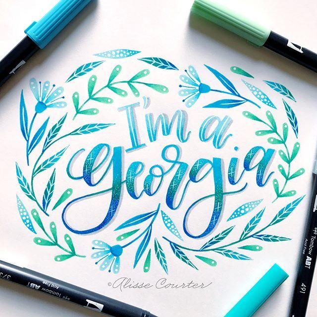 I am 100% a Georgia (I even took the @buzzfeed quiz!) but I
