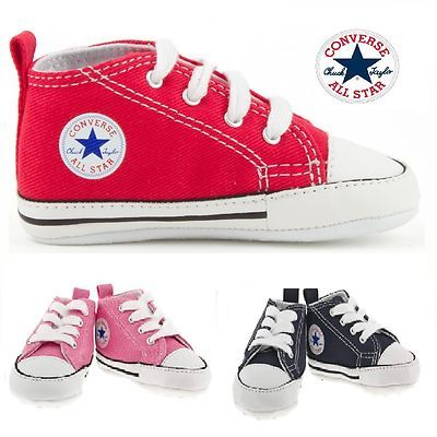 6f413807d841 BABY CONVERSE SHOES SOFT TRAINERS BOYS AND GIRLS on eBay!