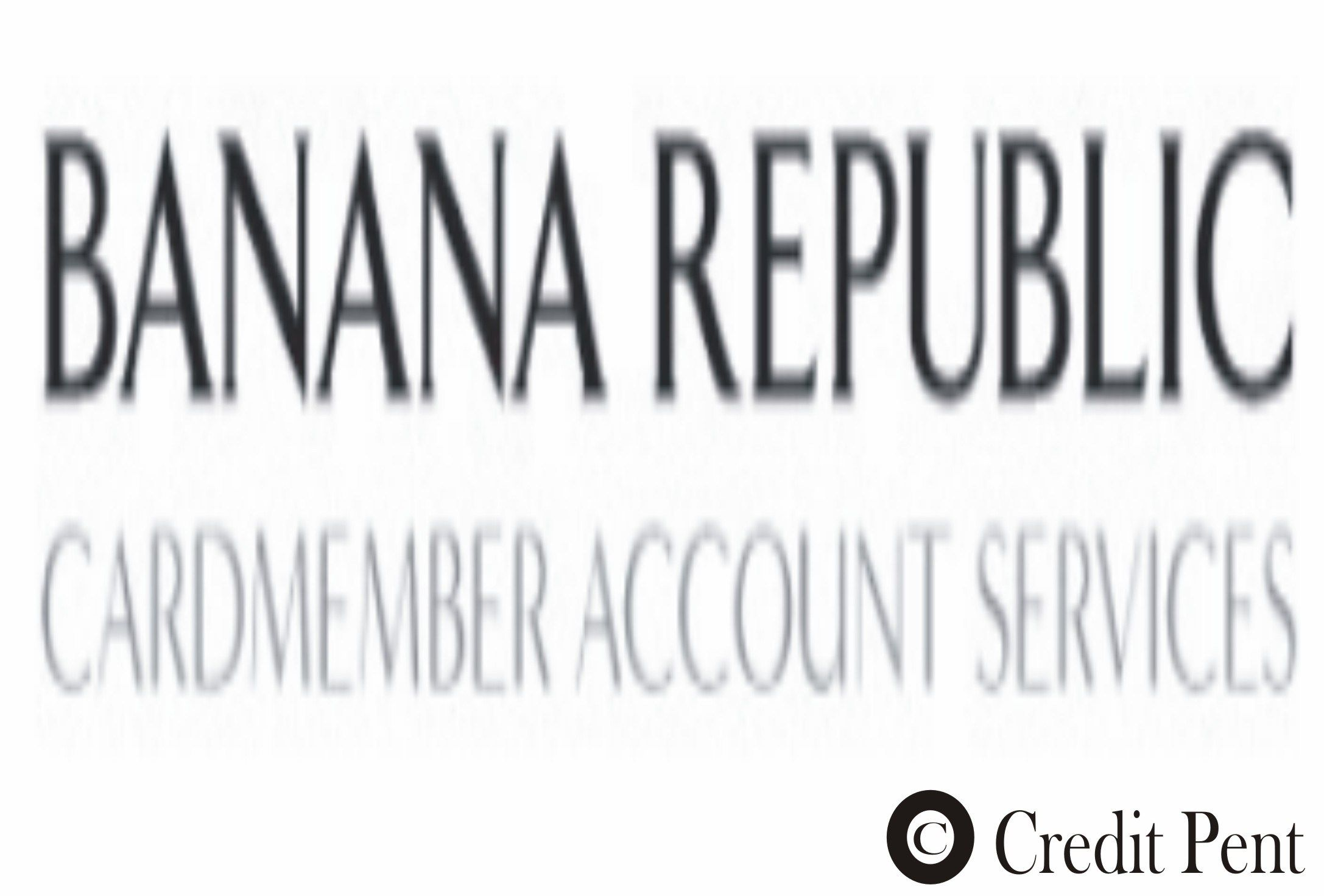Banana Republic Credit Card Login Credit card, Republic