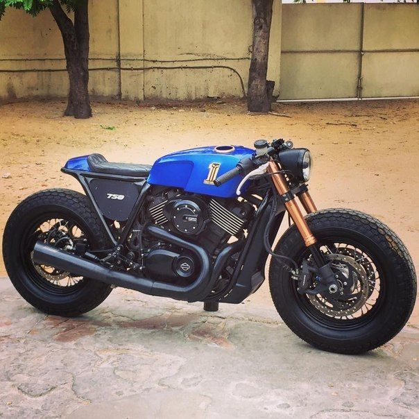 Harley Davidson Street 750 By Rajputana Custom Motorcycles