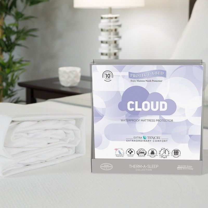 Protect A Bed Cloud Extra Soft Tencel Waterproof Mattress Pad Protector Protect A Bed With Images Waterproof Mattress Pad Waterproof Mattress Soft Mattress