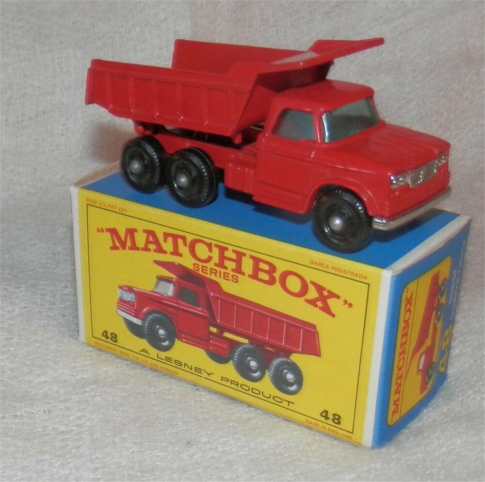 1960s.Matchbox Lesney 48 Dodge Dumper Truck.BPW.Mint In