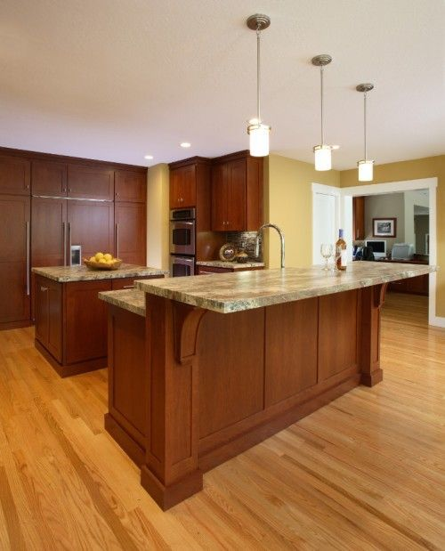Image Result For Two Tier Countertop Height Kitchen 2