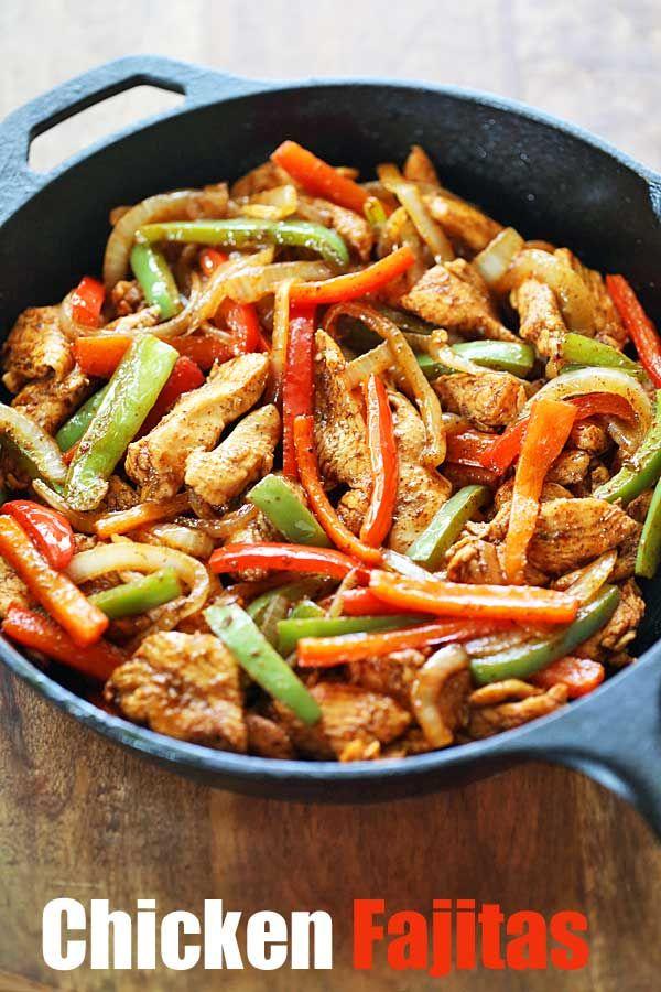Easy Chicken Fajitas images