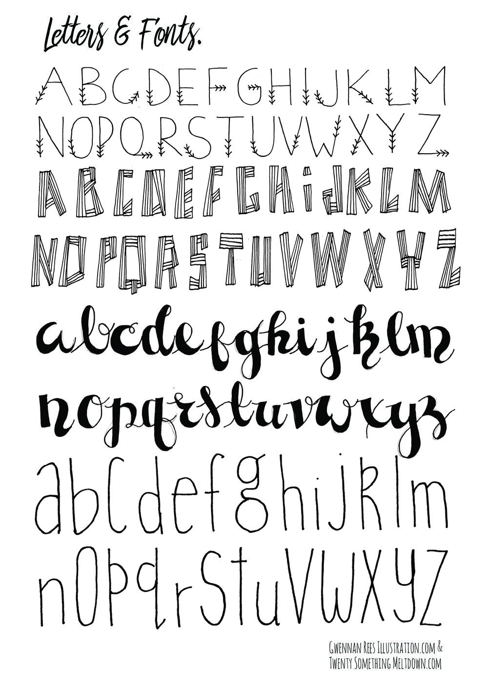 CLICK TO DOWNLOAD LETTERS AND FONTS PAGE 2