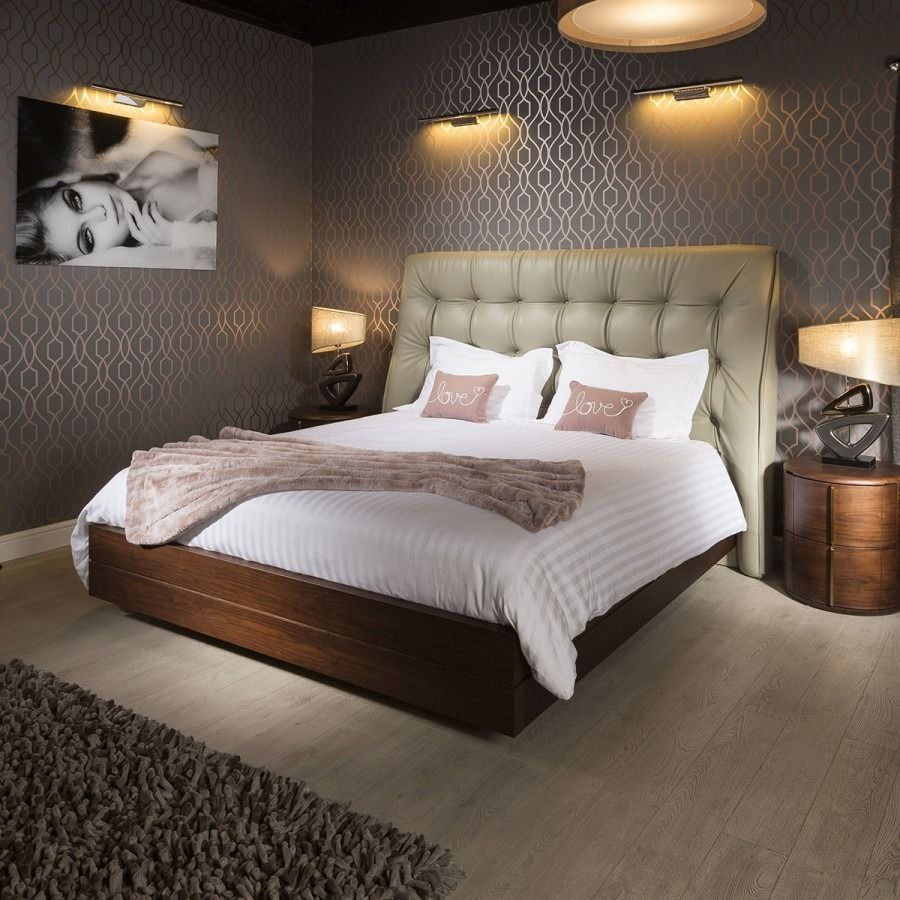 Luxury King Size Bed from Quatropi Featuring A Massive