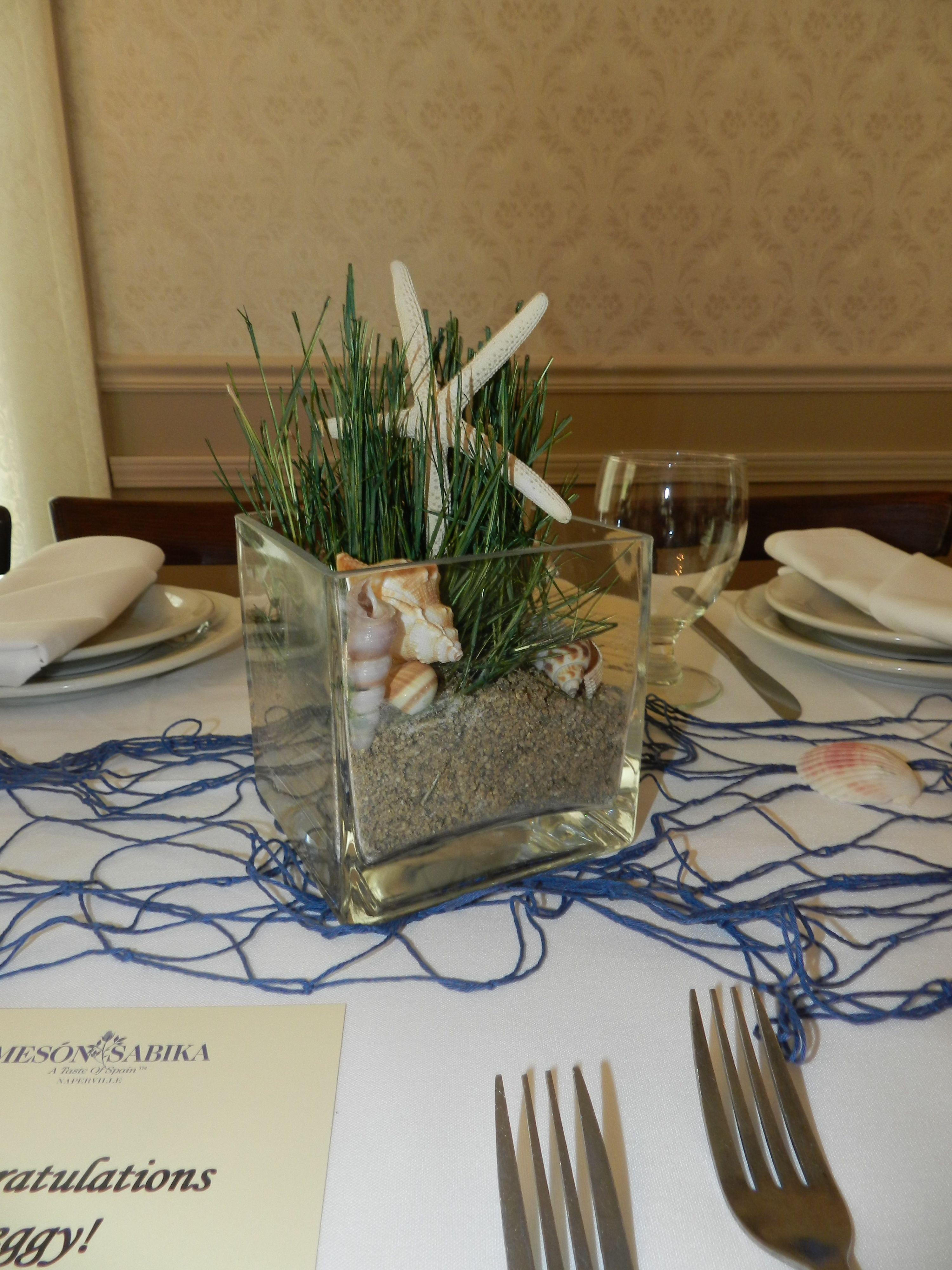 Ocean Table Decorations | ...   Sea Theme » Greek Baptism | Greek Wedding