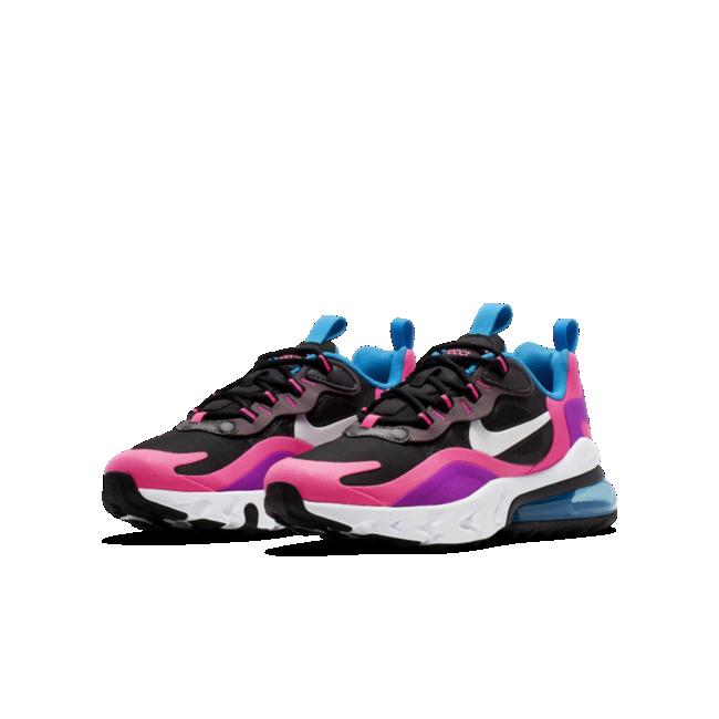 Chaussure Nike Air Max 270 React Pour Enfant Plus âgé Nike Fr Nike Air Nike Air Max Nike Shoes Girls