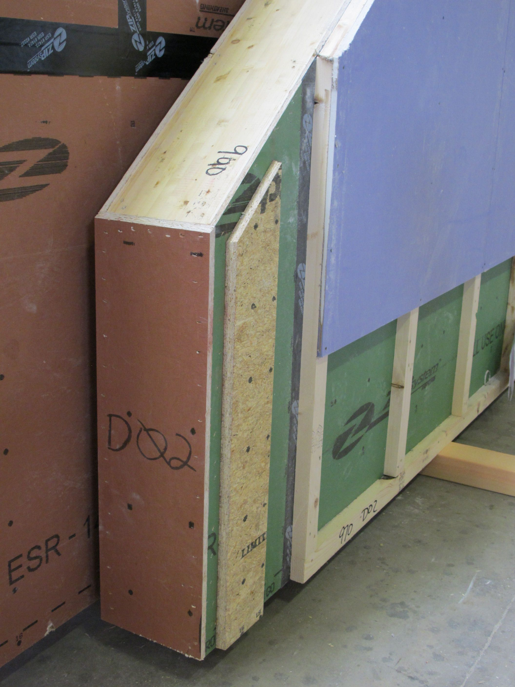 In Walpole New Hampshire Bensonwood Homes Is Manufacturing Wall Panels That Include An Interio Interior Wall Insulation Bathroom Wall Panels Insulated Panels