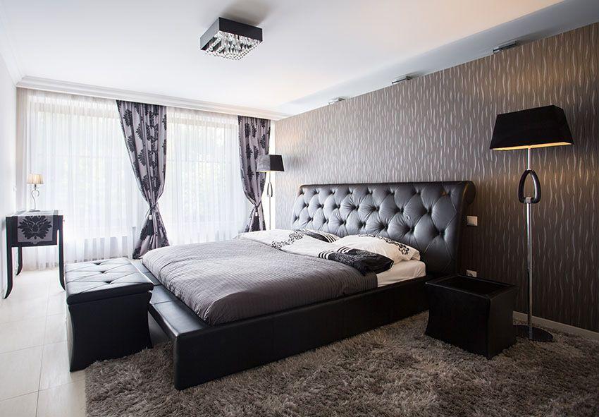 27 Jaw Dropping Black Bedrooms Design Ideas Minimalist Bedroom