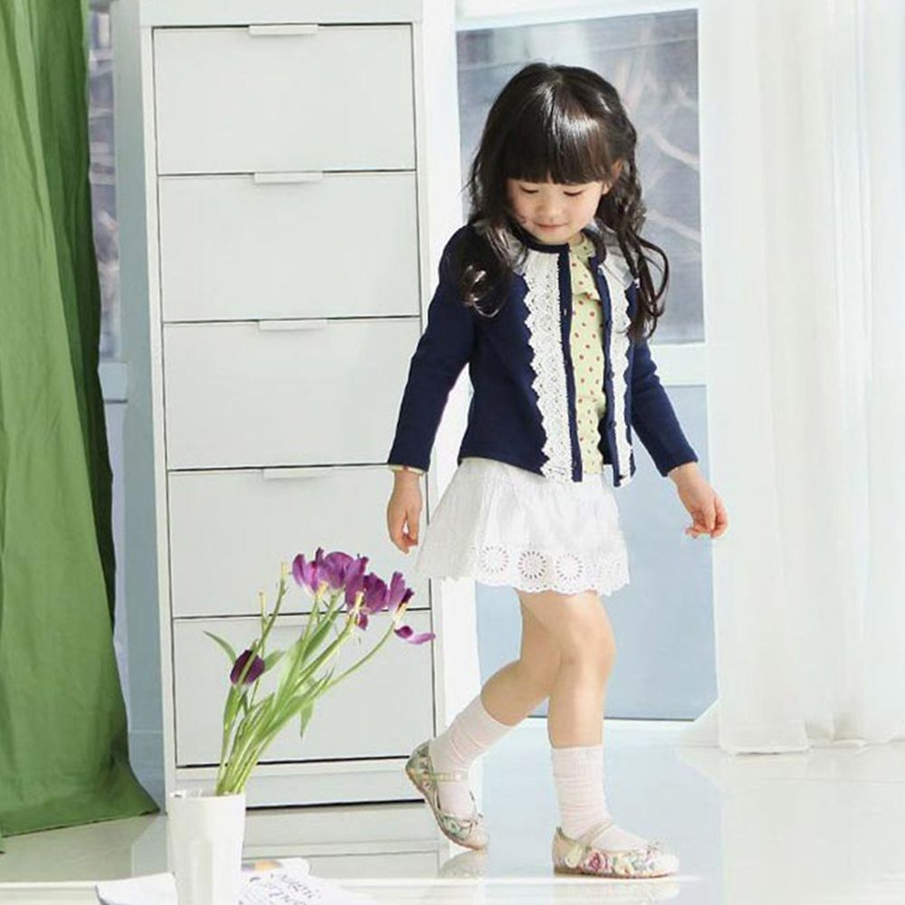 2017 Spring New Girls Cardigan Kids Girl Cotton Lace Cardigan Coat ...
