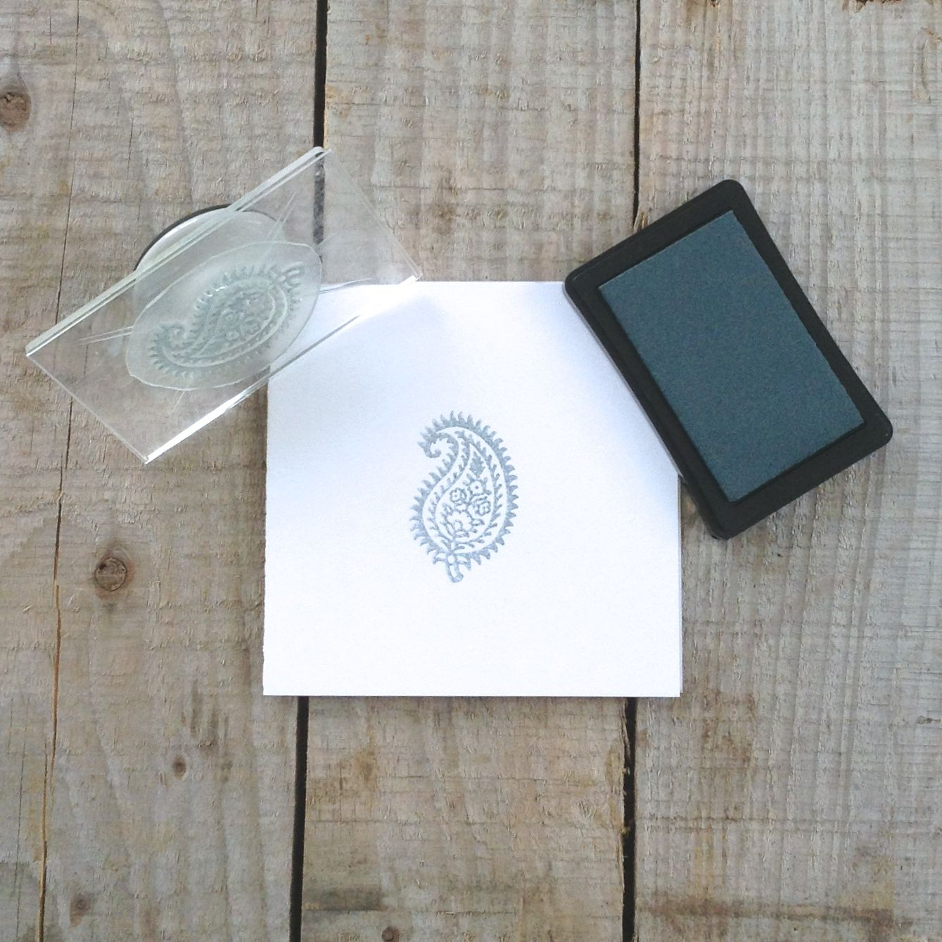 How to Use Clear Stamps with Tack 'N Peel...