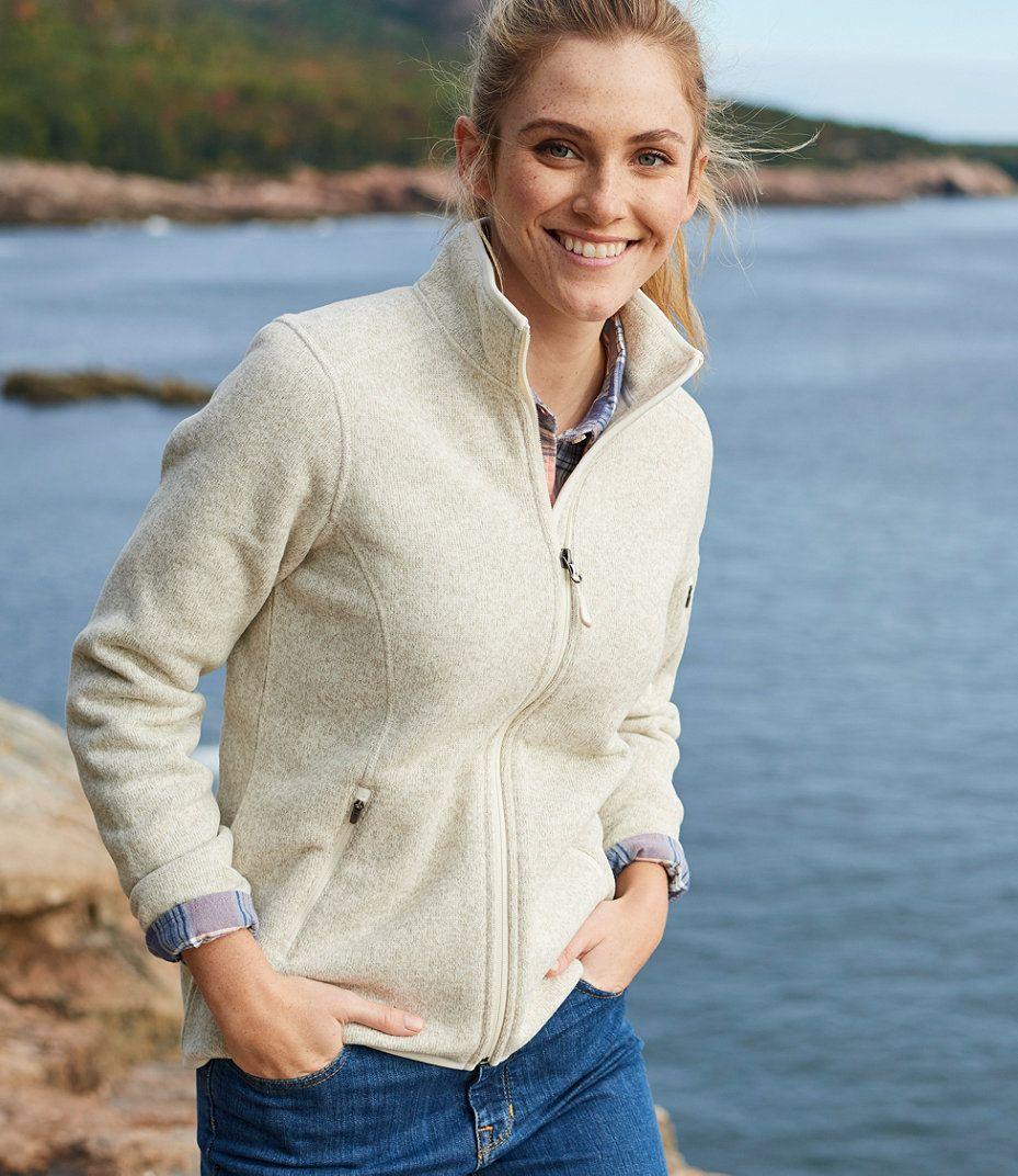 L.L.Bean Sweater Fleece Jacket  8285af2e6