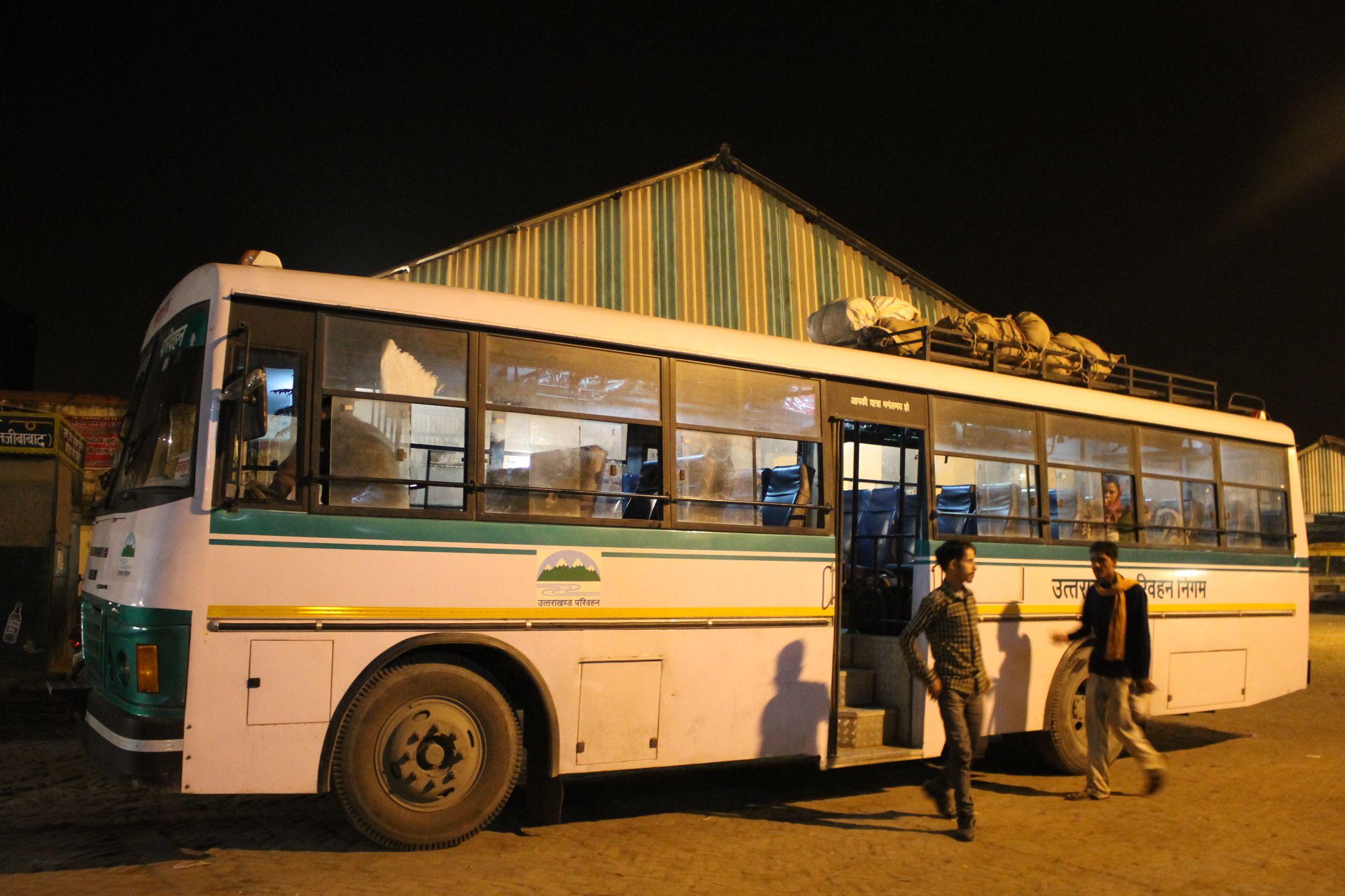 Bus de Haridwar a Banbasa