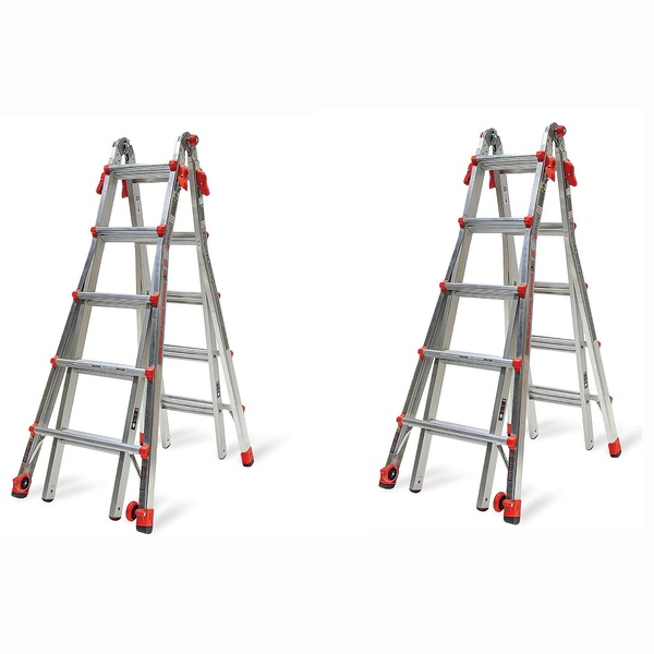Little Giant Ladder Systems 22 Foot Type Ia Multi Position Lt