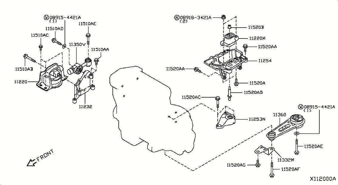 2010 Nissan Versa Hatchback Oem Parts Nissan Usa Estore Nissan Nissan Versa Online Accessories
