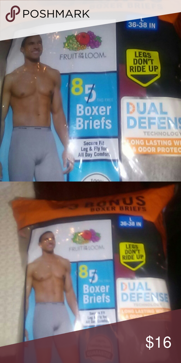 8b6578a64be6e3 Fruit of loom boxer briefs New 8 in pack total Fruit of the Loom Underwear    Socks Boxer Briefs