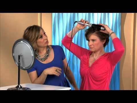 Short Hairstyles | Salon Finish for Short Hair with Perfecter Styler
