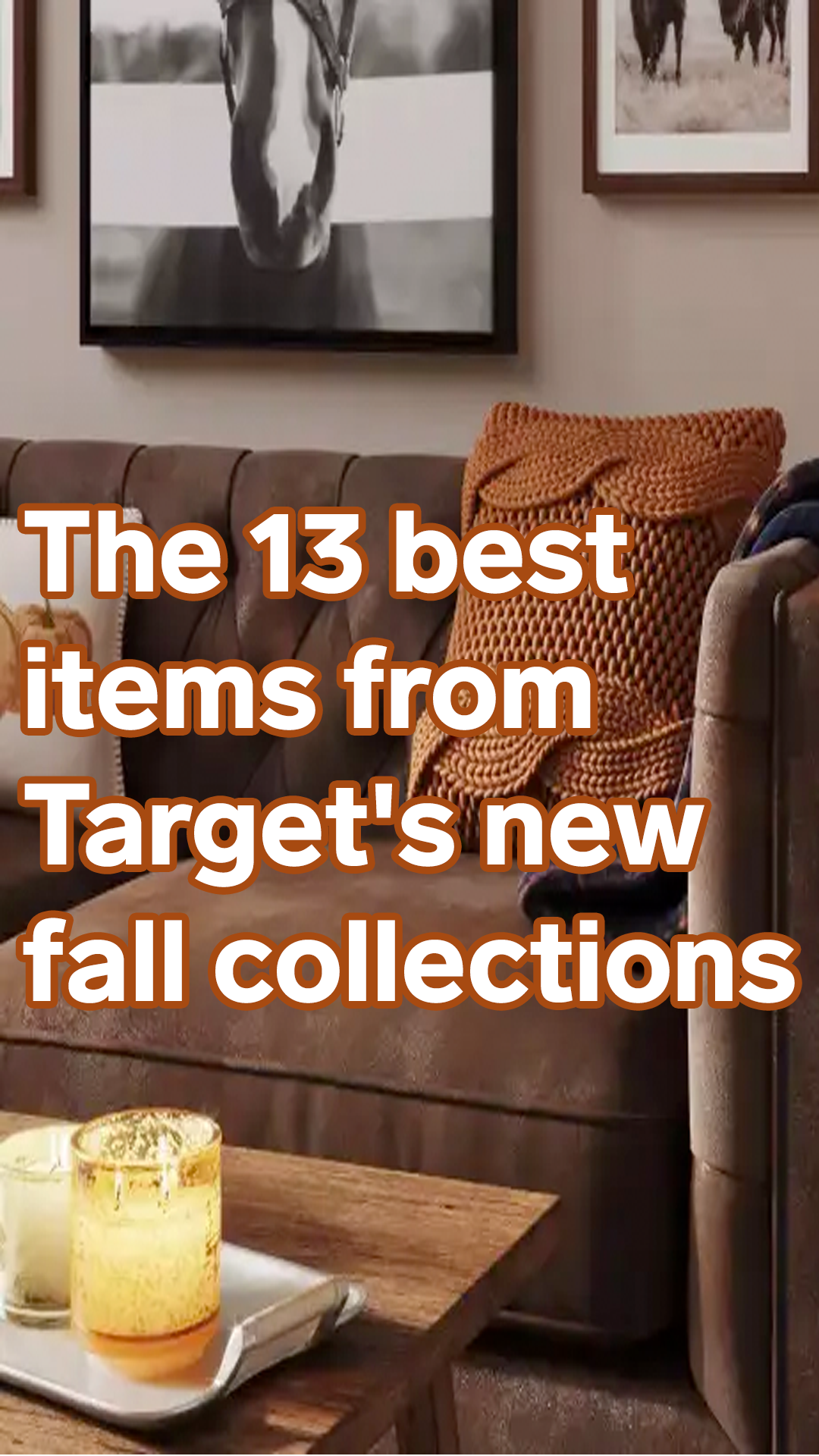 The 13 best items to buy from Target's new fall