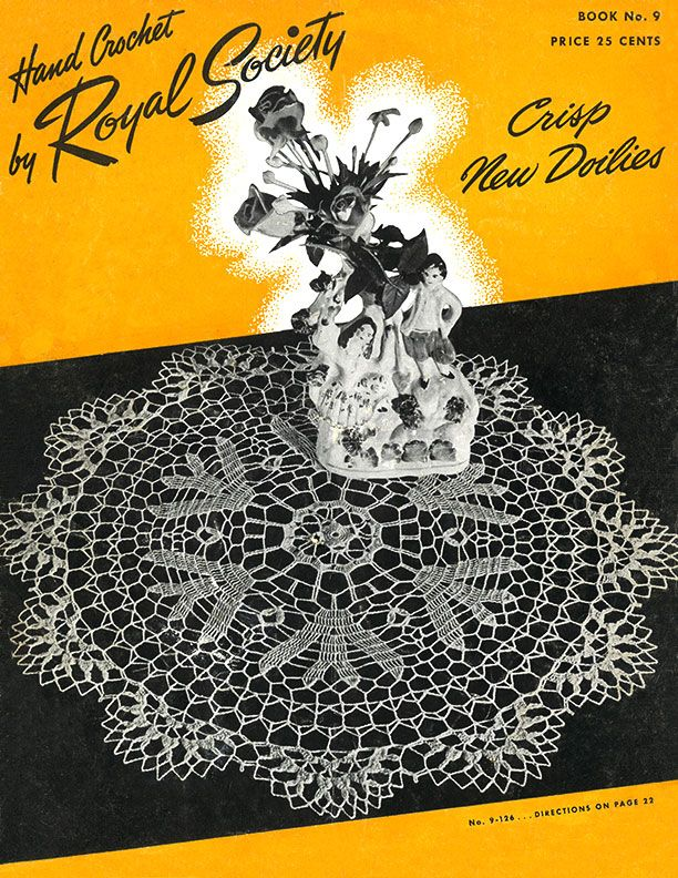 Crisp New Doilies | Book No. 9 | Hand Crochet by Royal Society ...