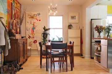 Art Board My Houzz Mid Century Modern Meets Bold Colors In This Montreal Family Eclectic Dining RoomsBold