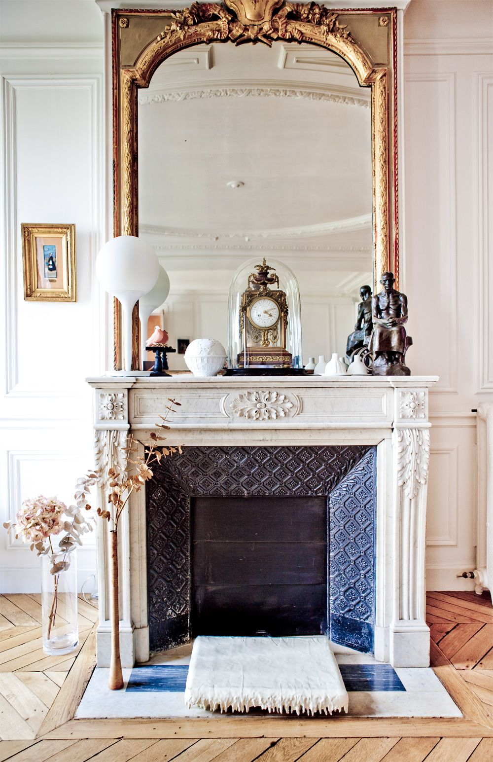 Fireplace by louise desrosiers 주거거실 pinterest interiors