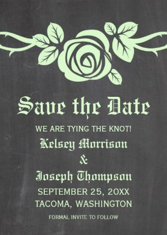 Classic floral design #save_the_date invitations.