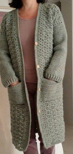 Gratis Haakpatroon Vest Haken Grote Maten Pinterest Crochet