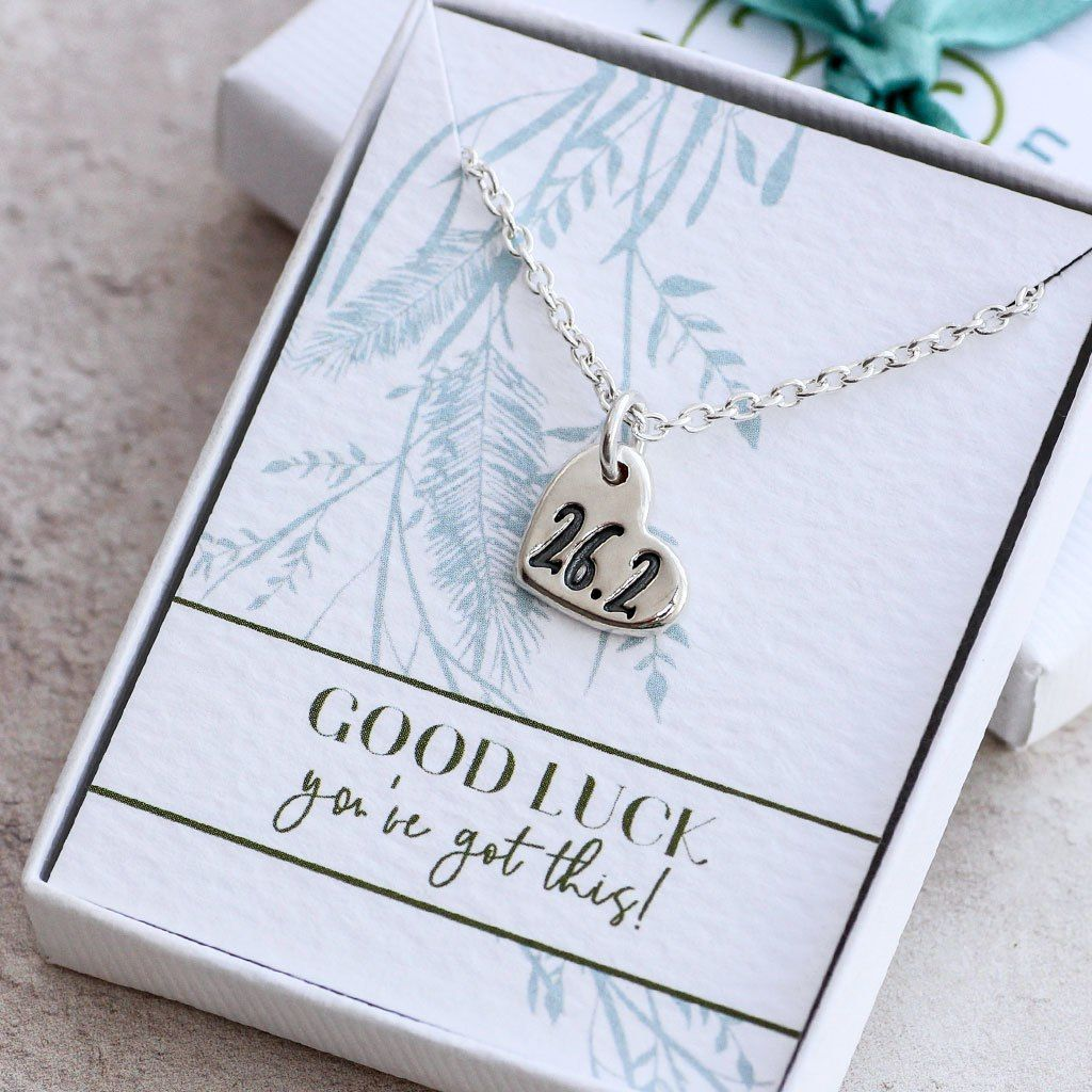 d41038f9572fd Marathon Silver Heart Bracelet, Ready to Gift | running accessories ...