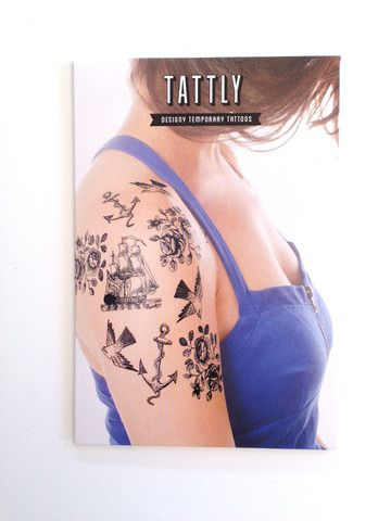 We are thrilled to be able to offer our Tattly temp tattoos at cartolina.com