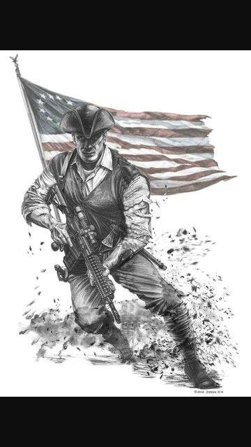 Patriot Patriotic Tattoos Military Tattoos Military Art