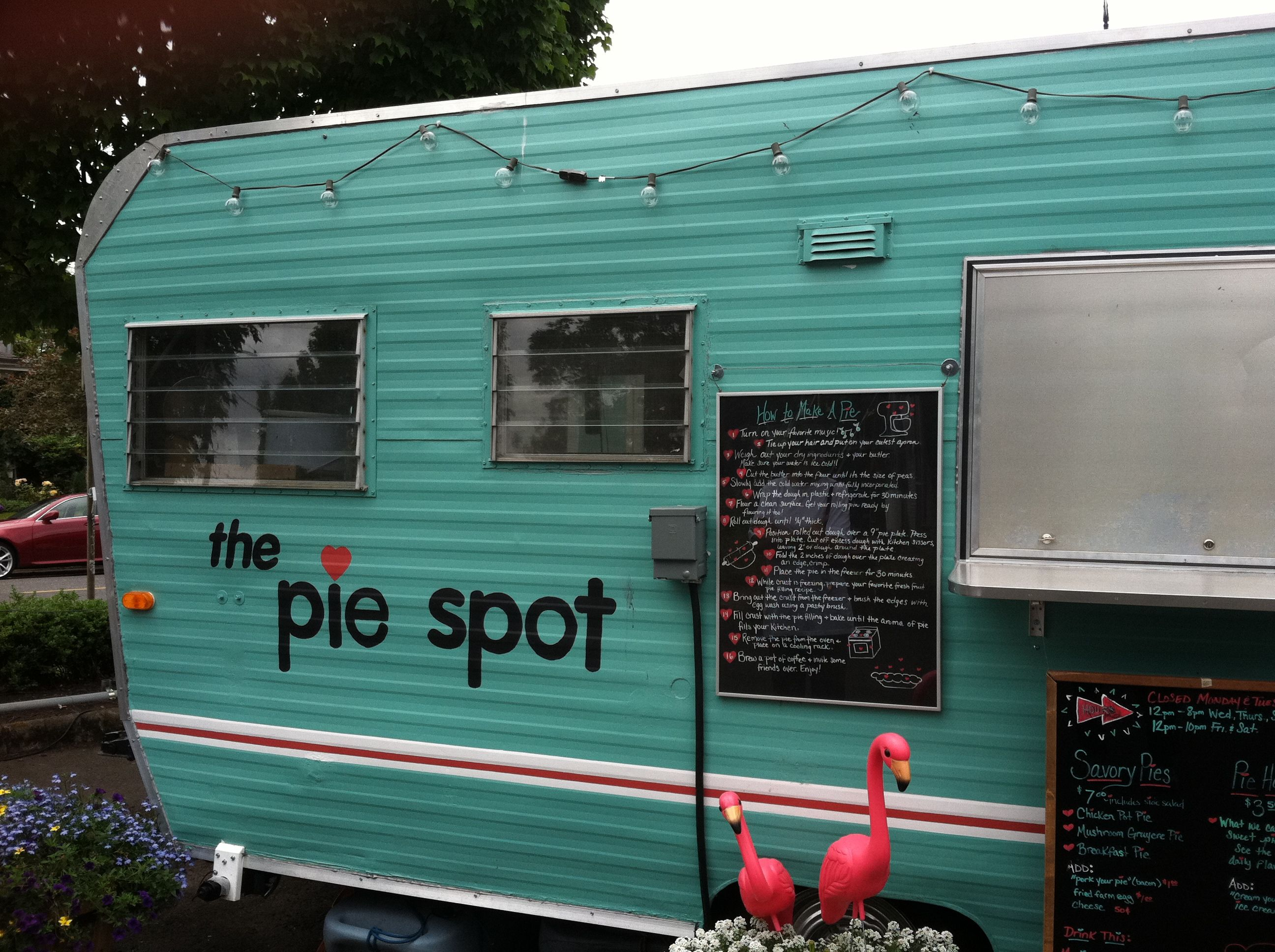 One of hundreds of food trucks in portland food truck